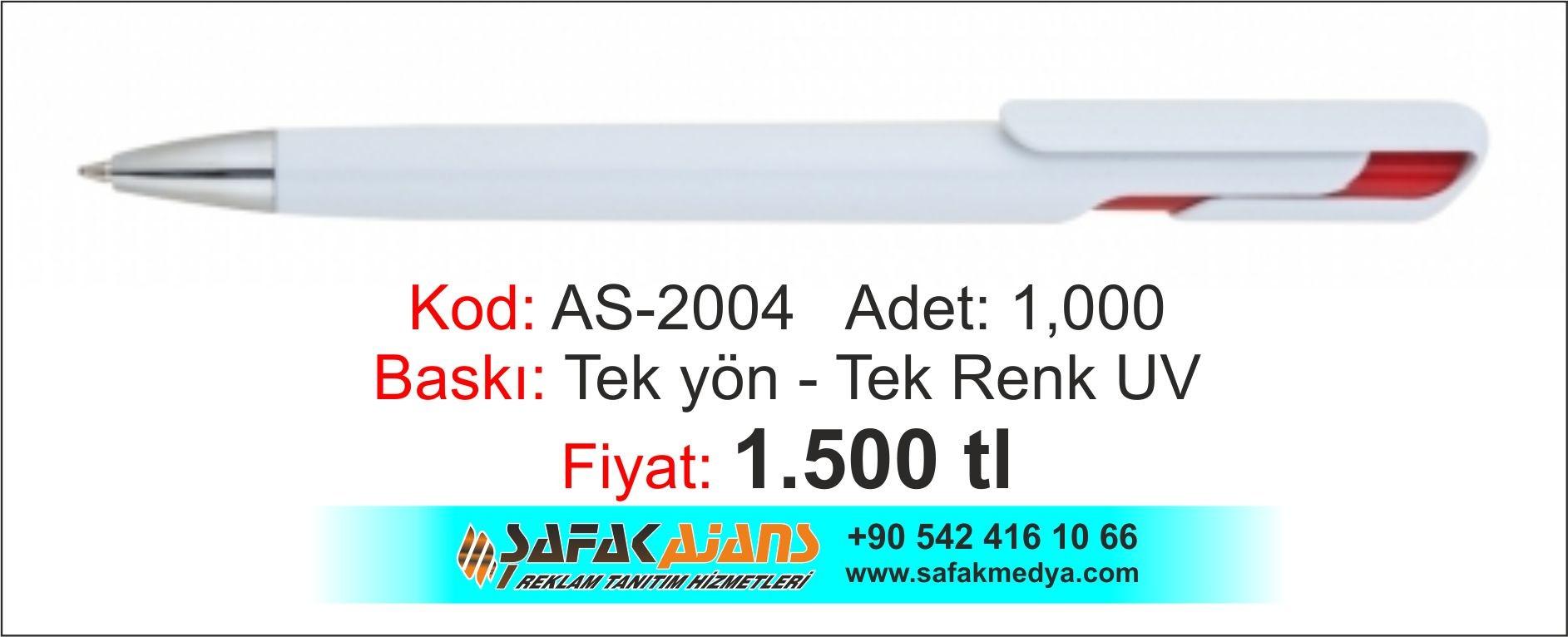 PLASTİK KALEM - AS-2004