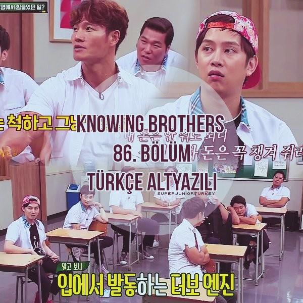 Knowing Brothers 86. Bölüm (Kim Jong-Kook & Lee Jong-Hyuk)[Türkçe Altyazılı] Ba6J89