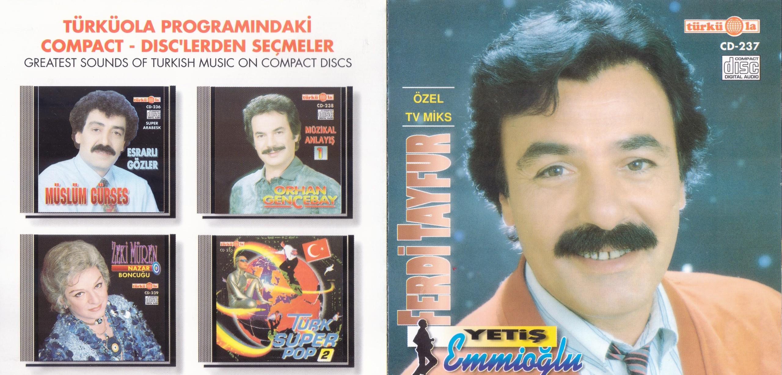 Ferdi Tayfur - Yetiş Emmoğlu (1992) - 320 Kbps & Cover - VarBiraZ!NeT