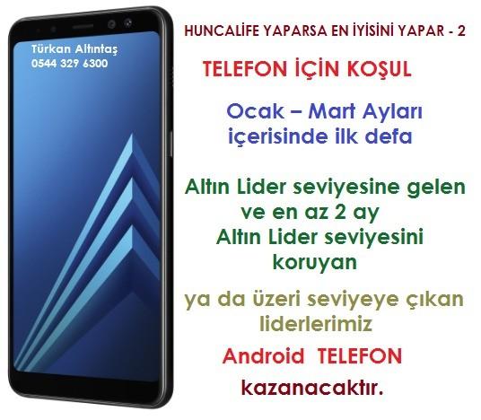 Huncalife'den Telefon Tablet ve Para Ödülü Kampanyası 2