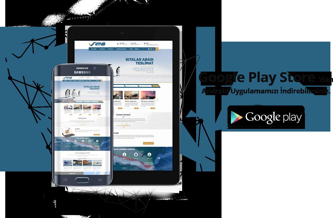 Mobile Application | IMS Lojistik - Irak Nakliye Lojistik