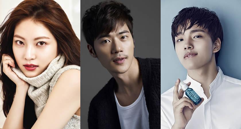 """Kong Seung-Yeon """"Circle"""" Dizisinde Rol Alacak"""