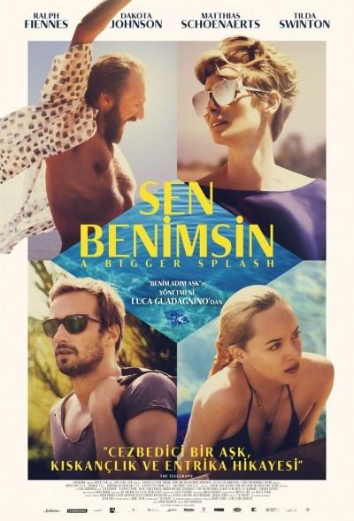 Sen Benimsin - A Bigger Splash (2015) türkçe dublaj film indir