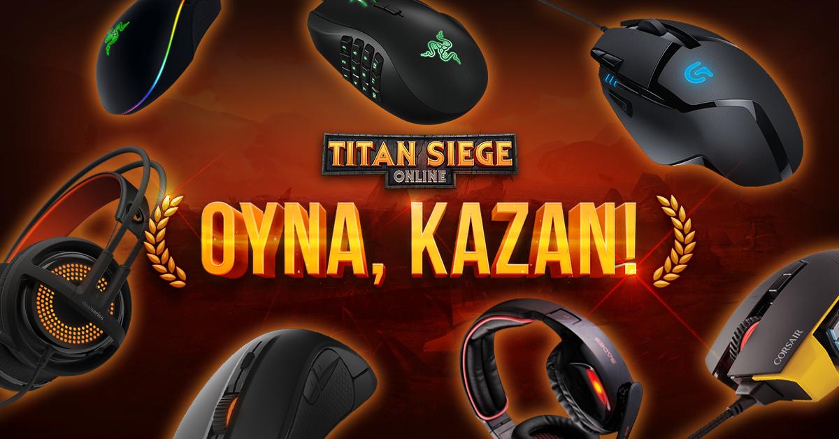 Titan Siege Online   Oyuncu Ekipmanı Etkinliği