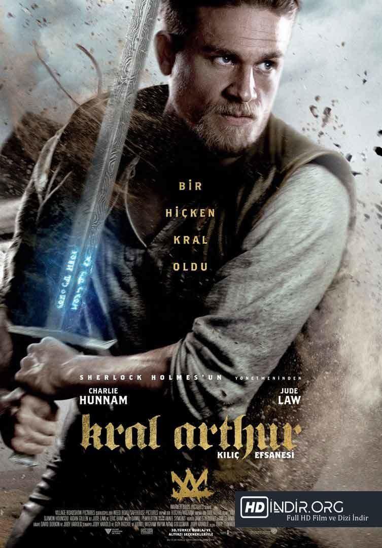 Kral Arthur: Kılıç Efsanesi (2017) Türkçe Dublaj HD İndir