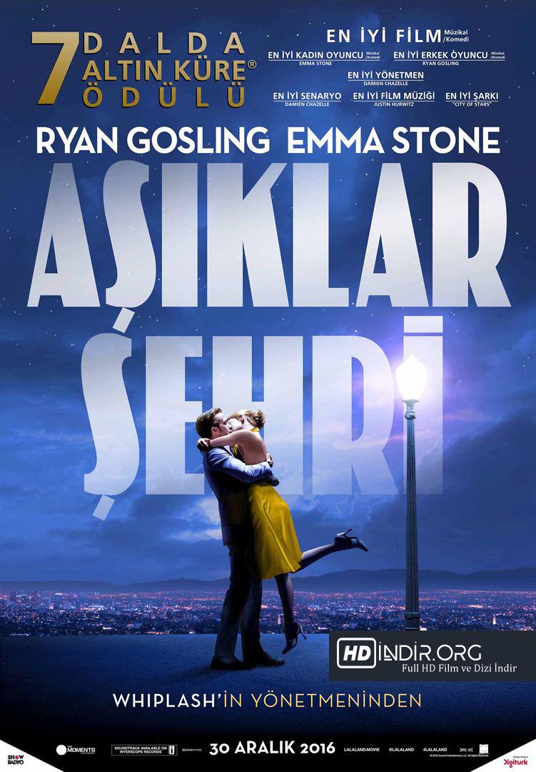 Aşıklar Şehri - La La Land (2016) Türkçe Dublaj HD Film İndir