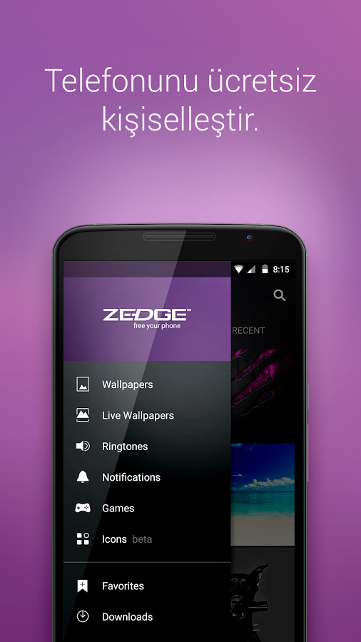 ZEDGE™ Ringtones & Wallpapers Android