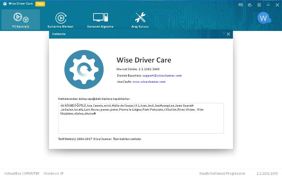 Wise Driver Care 2.2.1102.1008 | Katılımsız