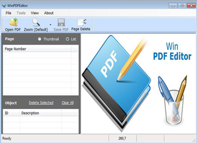 WinPDFEditor Full 2.3.0 İndir DC