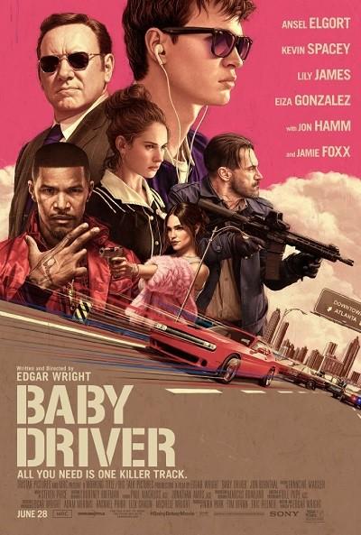 Tam Gaz – Baby Driver 2017 (BRRip – m1080p) Türkçe Dublaj indir