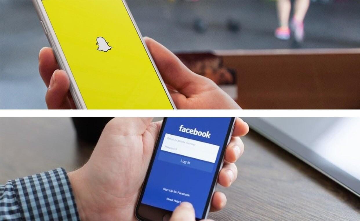 snapchat ve faceebok rekabeti