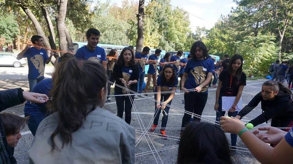 odtü eymir gölü liderlik oyunları etkinliği