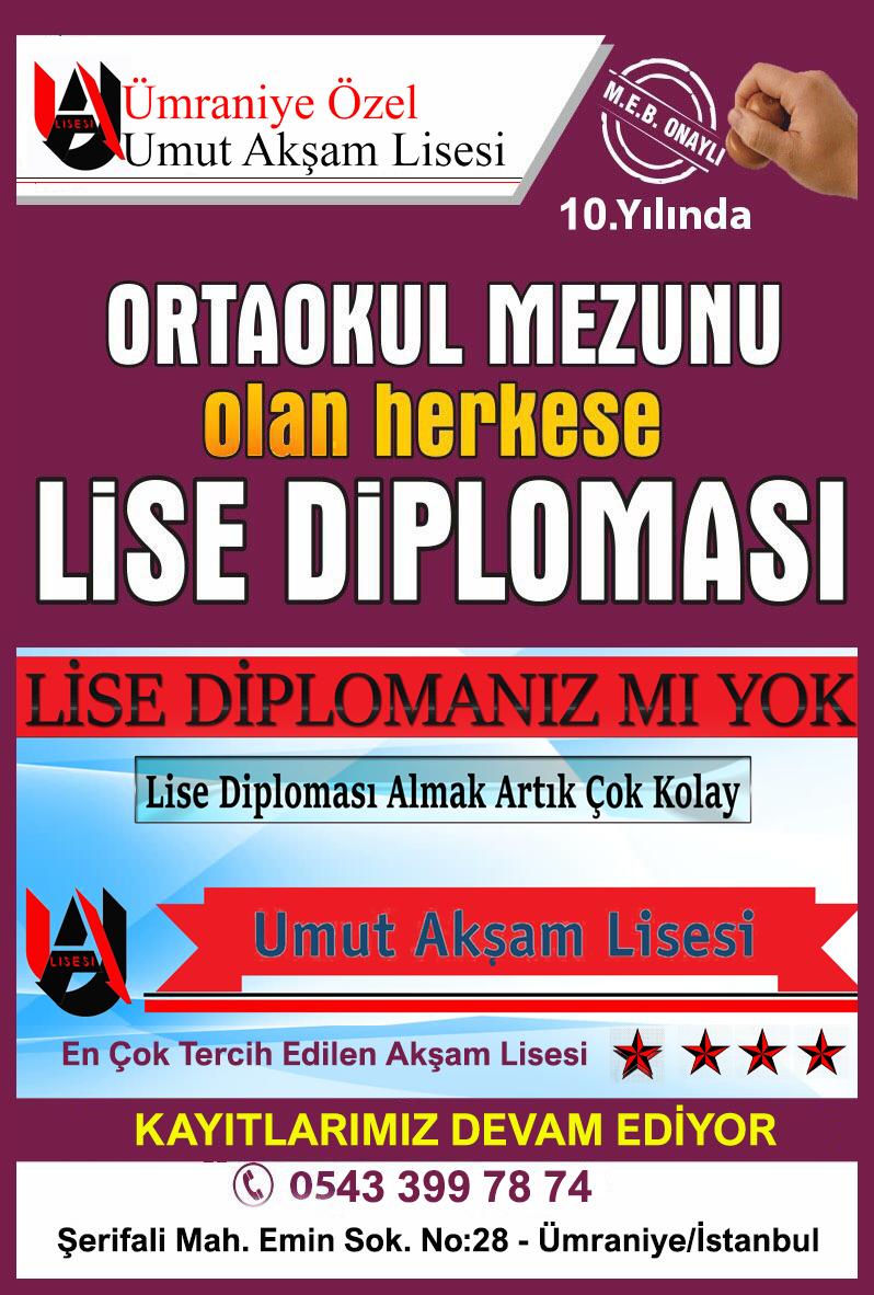 lise diploması nasıl alınır