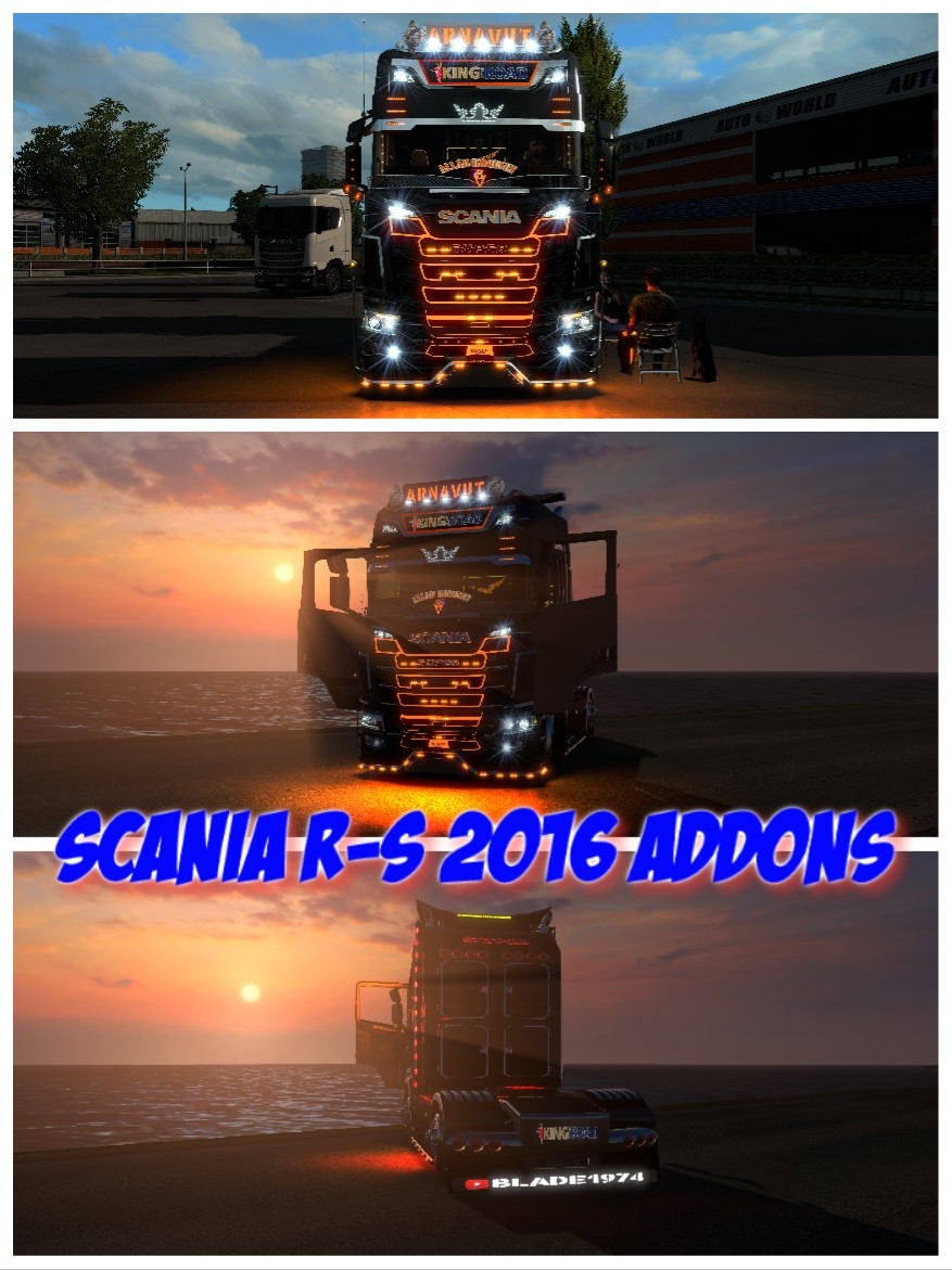 Scania R-S Addons v5.5