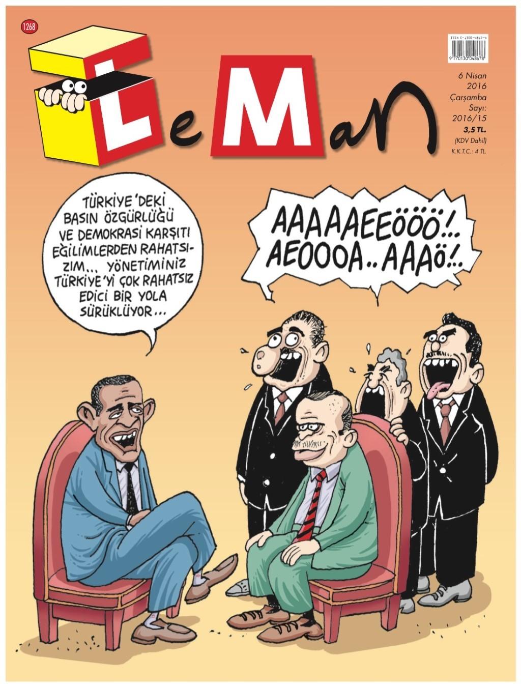 Leman 6 Nisan 2016 PDF Dergi indir