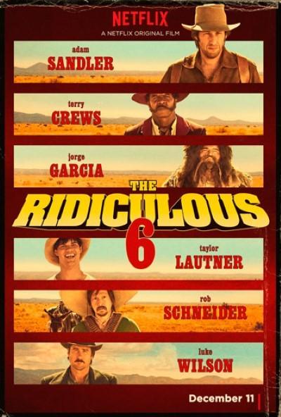 The Ridiculous 6 (2015) türkçe dublaj film indir