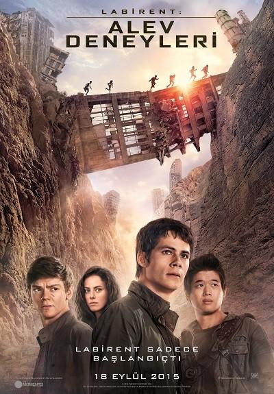 Labirent: Alev Deneyleri - Maze Runner: The Scorch Trials | 2015 | BluRay | Türkçe Dublaj | Film İndir - Tek Link indir