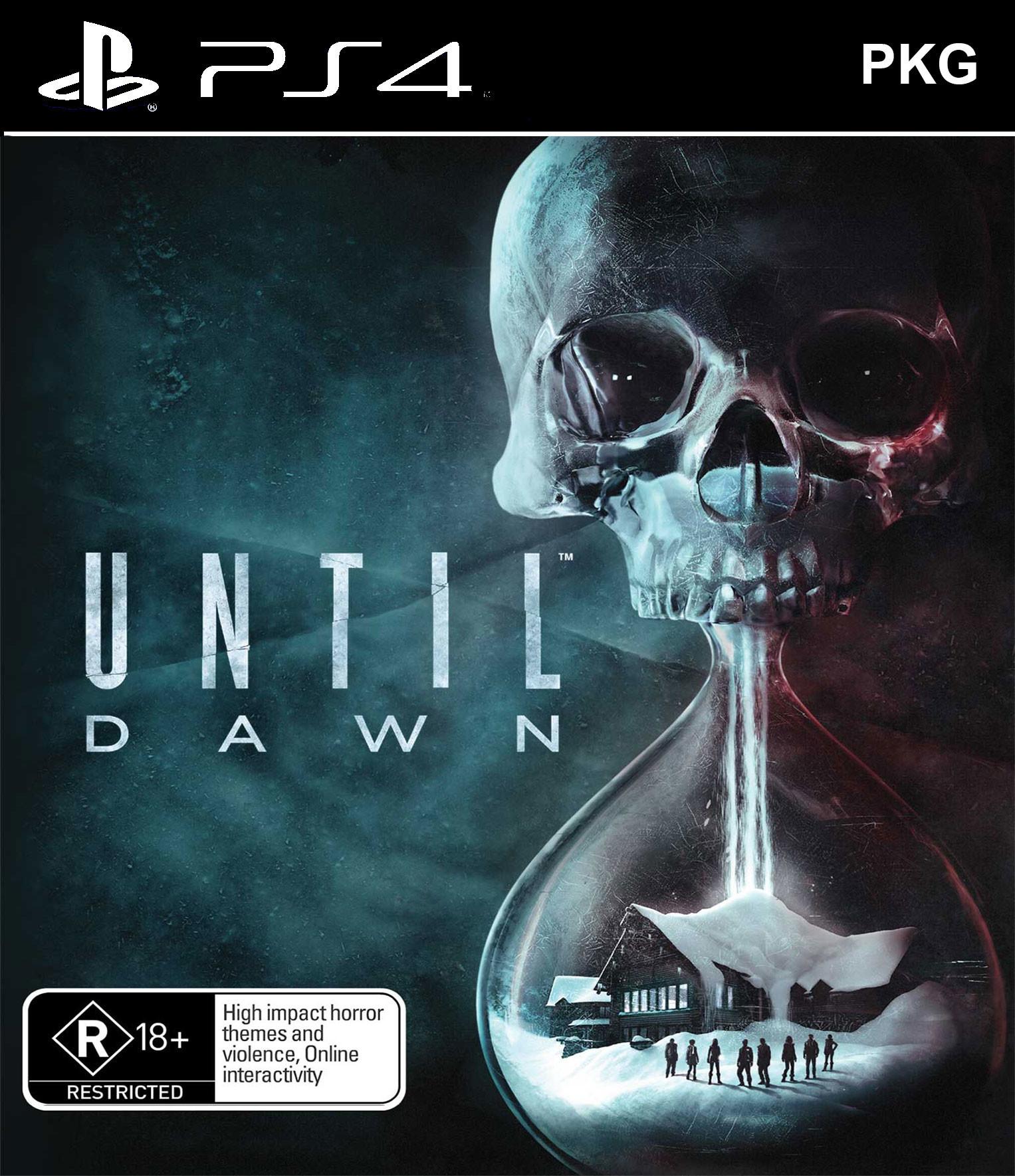 Until Dawn PKG Oyun İndir ! [4.05