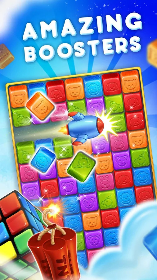 Pet Blast Crush : Matching Puzzle Game Apk