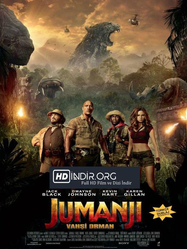 Jumanji : Vahşi Orman indir (2017) Türkçe Dublaj HD İndir