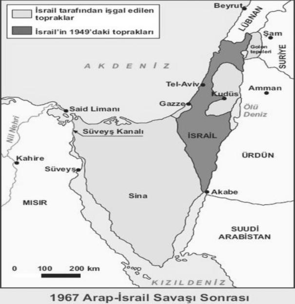 67 Ar. İsr. Savaşı Sonrsı Gri