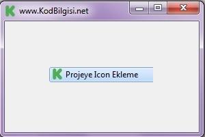 C# Projeye Icon Ekleme