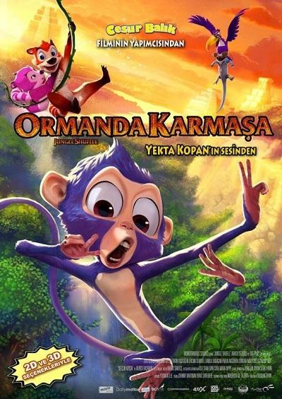 Ormanda Karmaşa - Jungle Shuffle 2014 M720p BluRay x264 Türkçe Dublaj - Tek Link