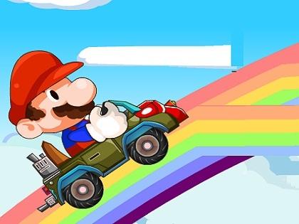 Mario Araba Yolu Oyunu