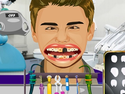 Justin Bieber Diş Tedavisi Oyunu