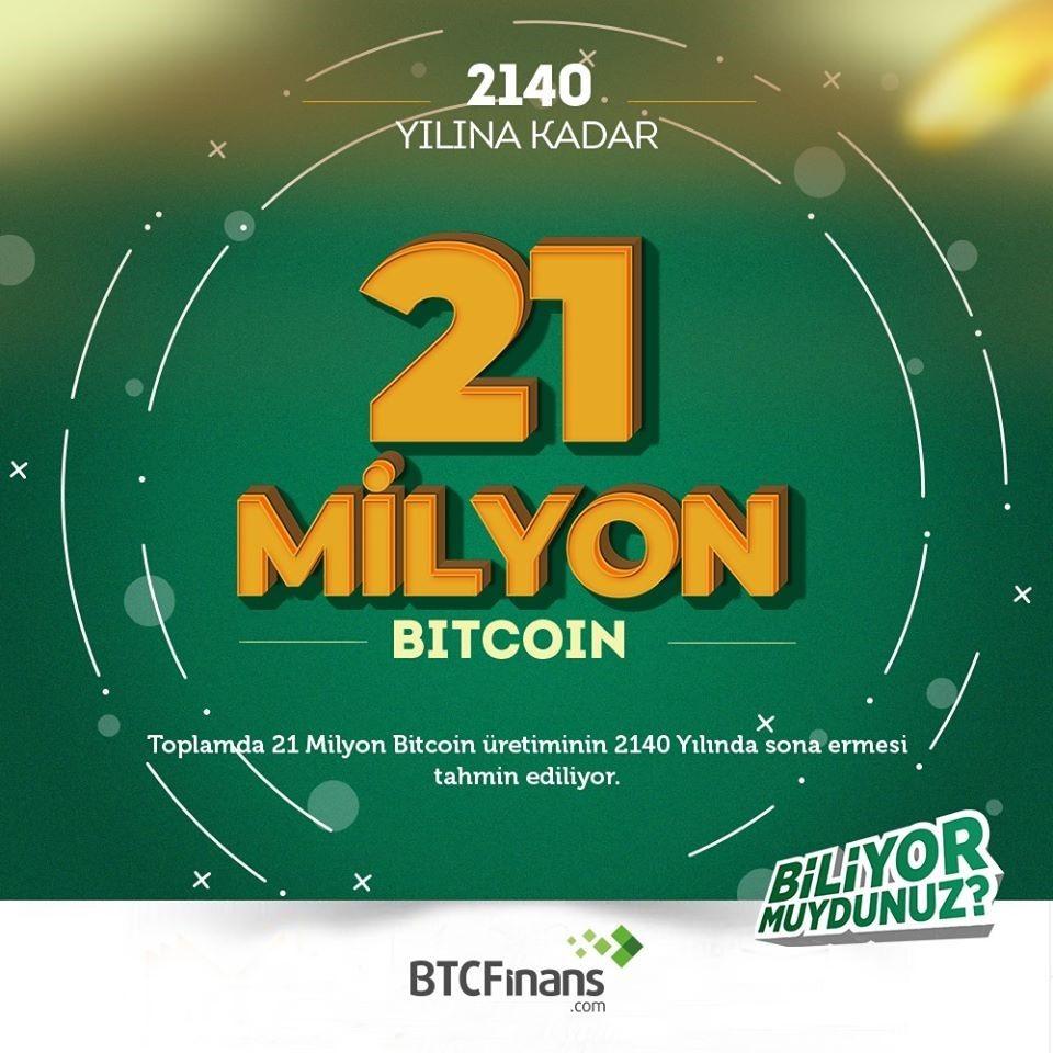 21 Milyon Bitcoin