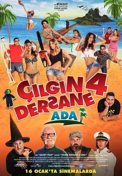 Çılgın Dersane 4 Ada 2015 720p HDTV Yerli Film – Tek Link
