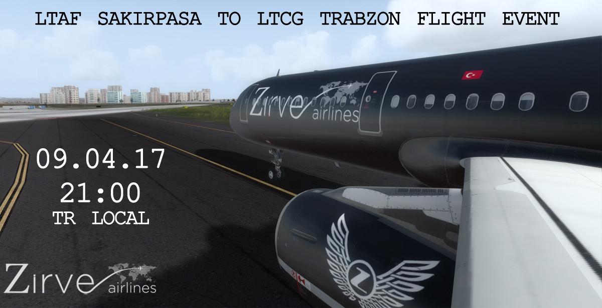 LTAF - LTCG  Flight Event