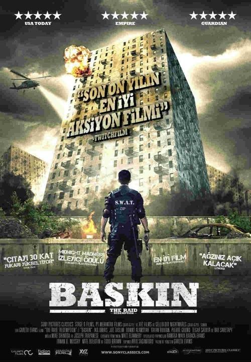 The Raid / Serbuan Maut / Baskın / 2011 / Endonezya-ABD-Fransa / Online Film İzle