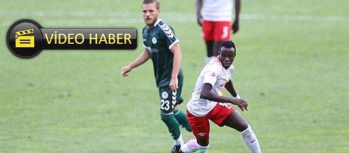 Leipzigli Bruma, Konyaspor maçında coştu!