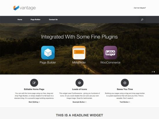 vantaga wordpress teması