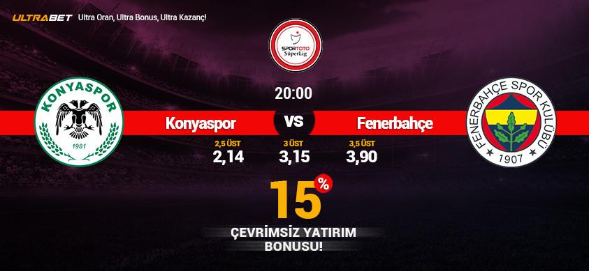 Konyaspor - Fenerbahçe Canlı Maç İzle