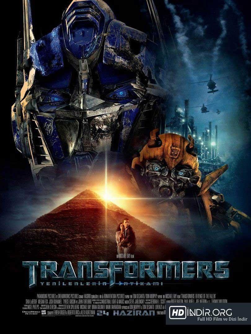 Transformers: Yenilenlerin İntikamı (2009) Türkçe Dublaj HD İndir