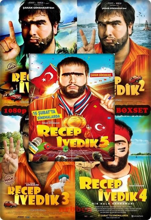 Recep İvedik 1-2-3-4-5 Boxset (Yerli Film) 1080p WEB-DL DD5.1 AC3