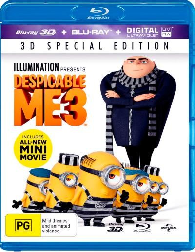 Çılgın Hırsız 3 – Despicable Me 3 2017 (BluRay 3D 1080p) DuaL TR-ENG indir