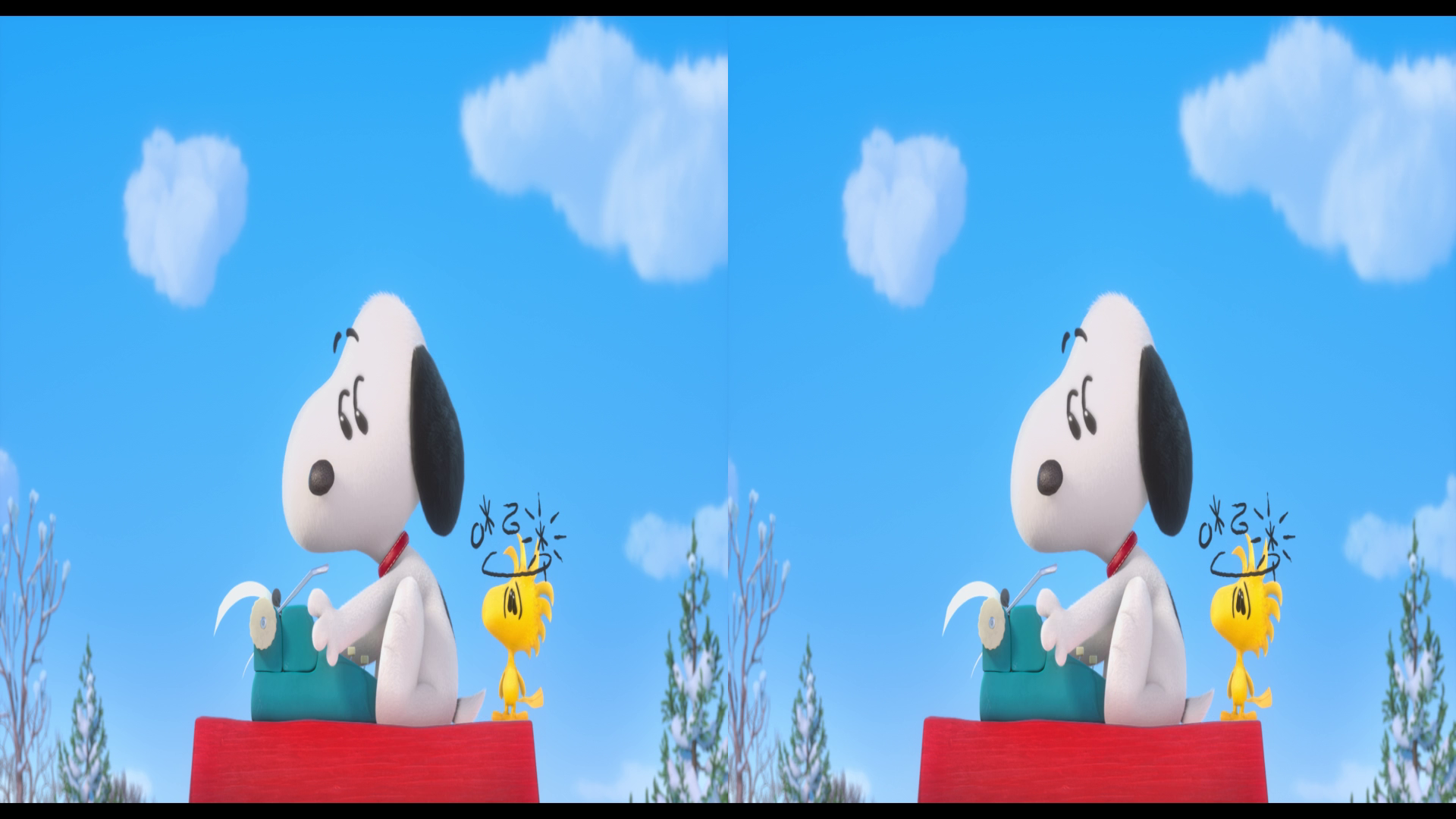 Snoopy ve Charlie Brown: Peanuts Filmi 3D - 3D The Peanuts Movie | 2015 | 3D BluRay Hal-SBS 1080p | DuaL TR-EN - Tek Link