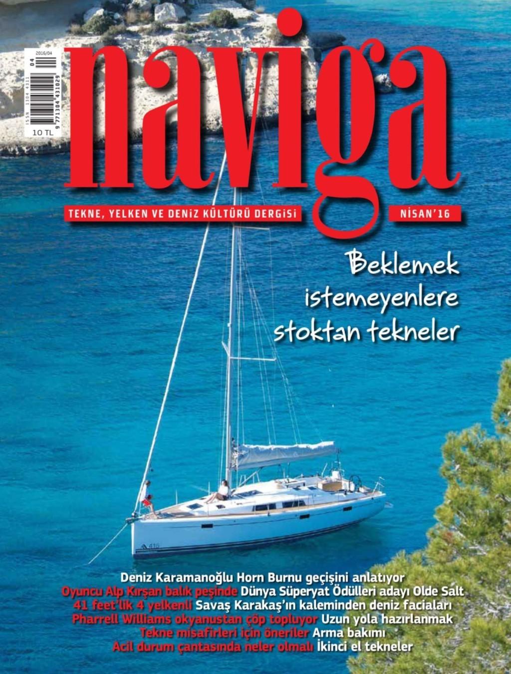 Naviga Nisan E-dergi indir Sandalca.com