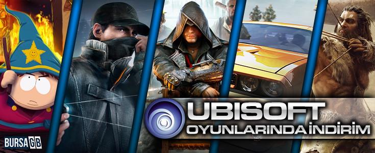 Ubisoft Oyunlarinda Dev Indirim