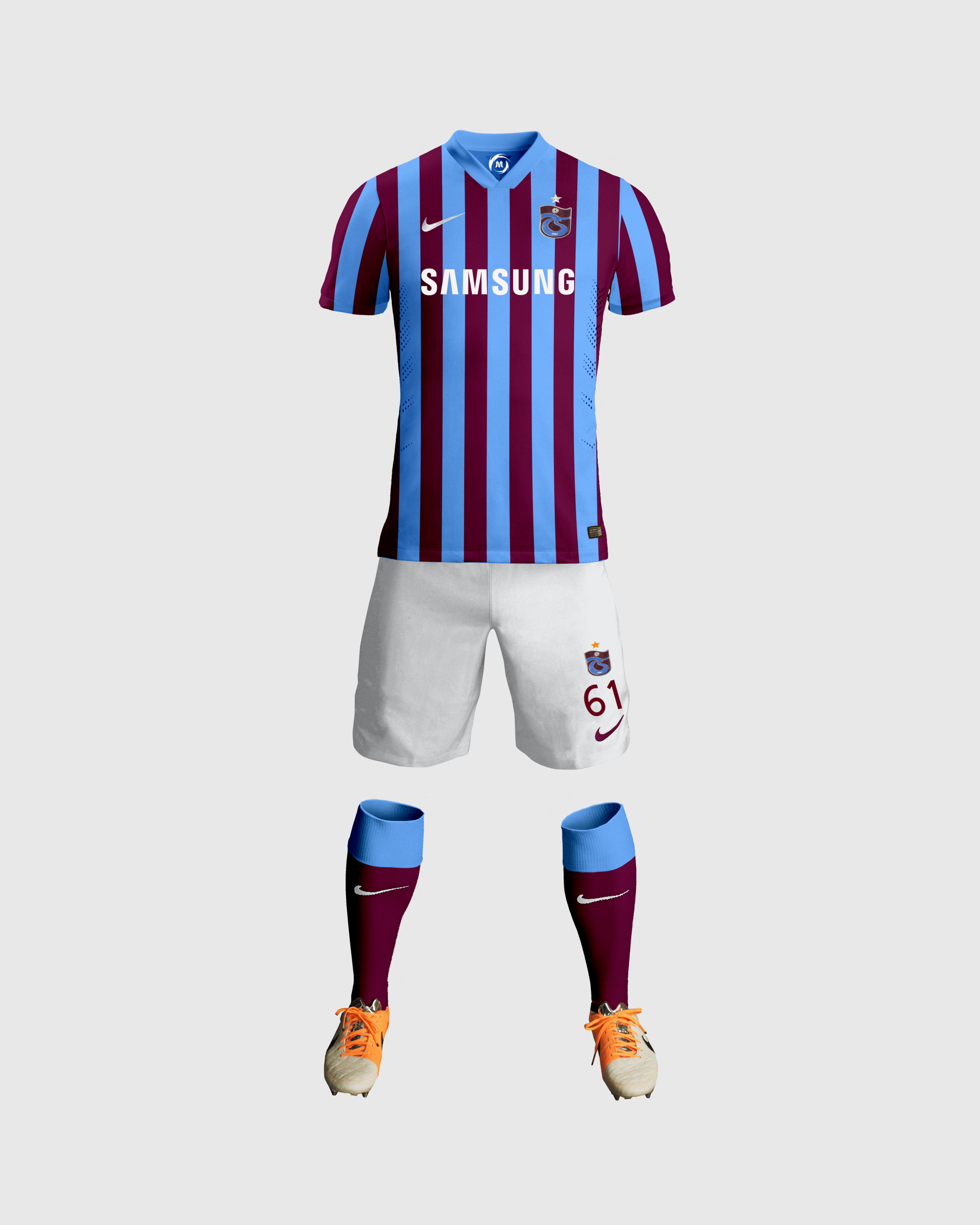 Trabzonspor Çubuklu Forma