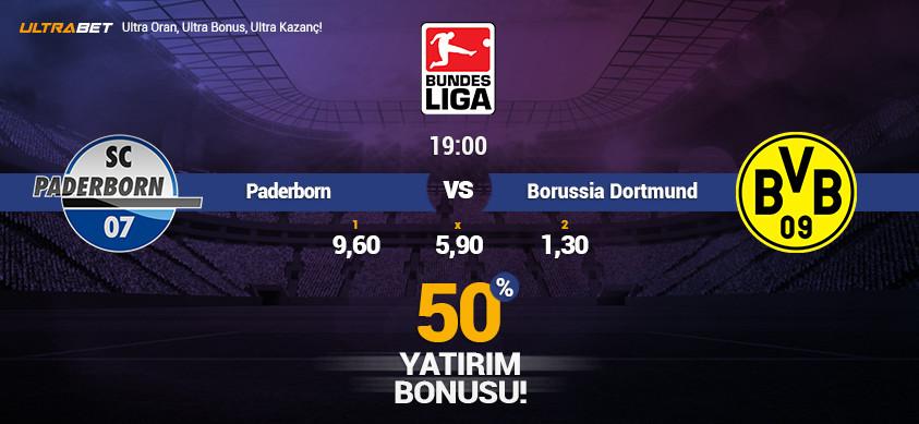 Paderborn vs Borussia Dortmund  - Canlı Maç İzle