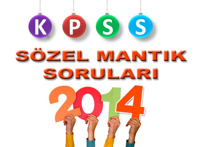 KPSS Sözel Mantık Konu ve Soru Bankası