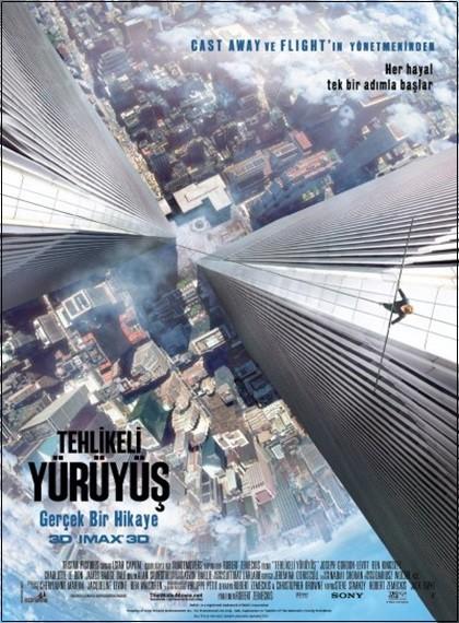 Tehlikeli Yürüyüş 3D - 3D The Walk | 2015 | 3D BluRay | DuaL TR-EN - Film indir - Tek Link indir
