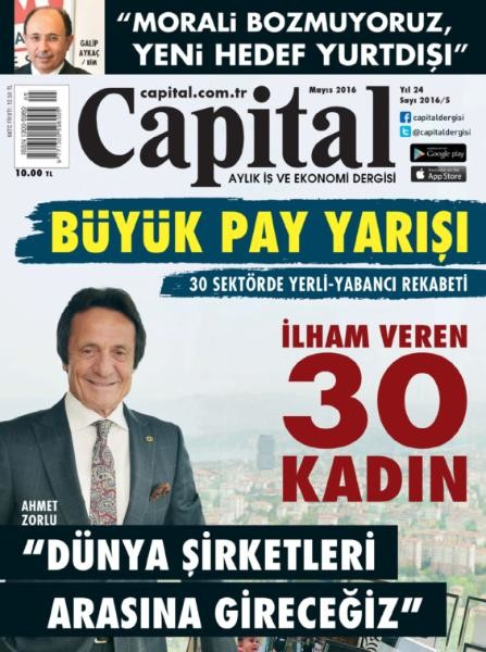 Capital Mayıs E-dergi indir Sandalca.com
