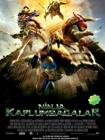 Ninja Kaplumbağalar  – Teenage Mutant Ninja Turtles 2014 720p WEB-DL x264 DUAL TR-EN