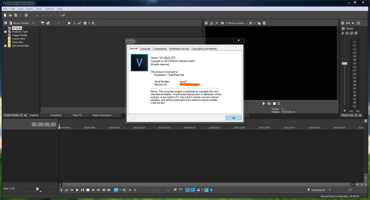 MAGIX VEGAS Pro 17.0 Build 353 (x64) | Katılımsız