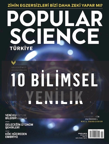 Popular Science Nisan 2018